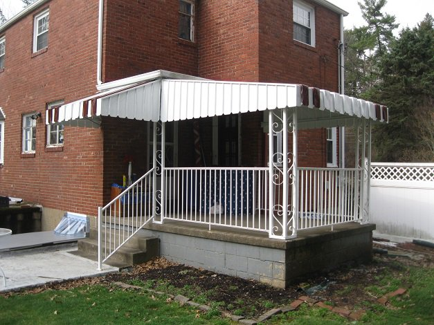 Awnings Pittsburgh PA: Retractable, Aluminum and Canvas ...