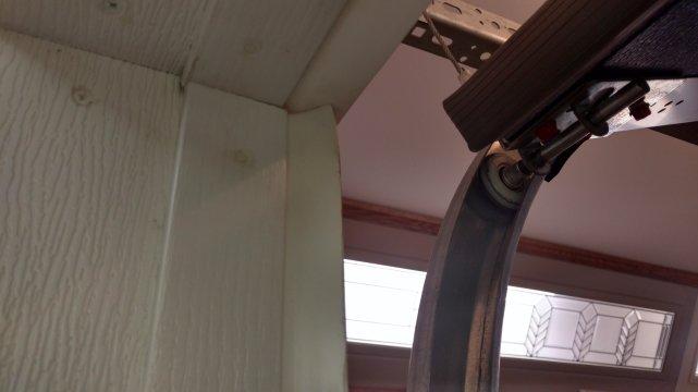 Garage Door Weather Trim