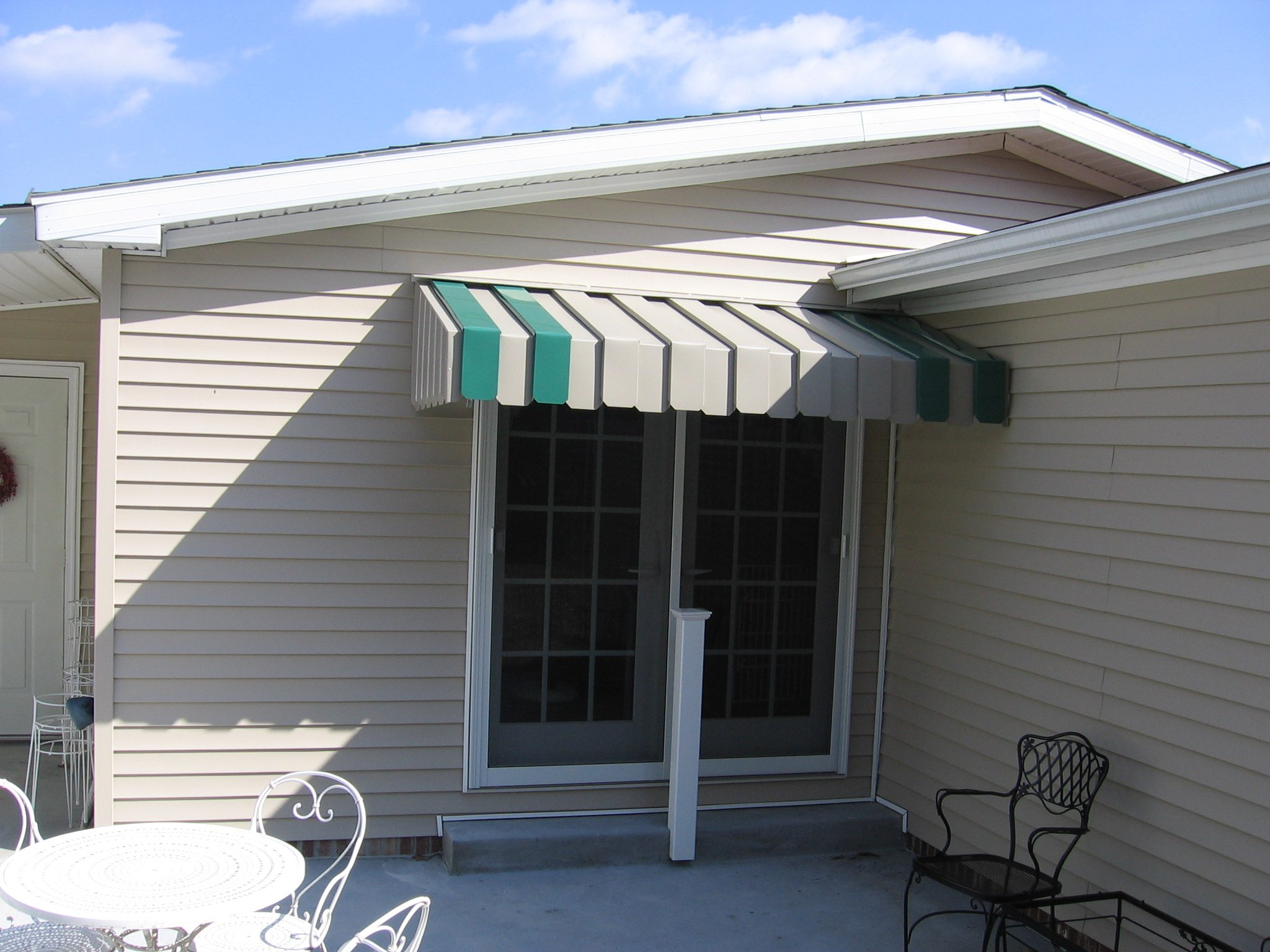 Aluminum Awning In Pittsburgh Canvas Awnings